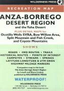 Anza-Borrego Desert Map 3rd Editon