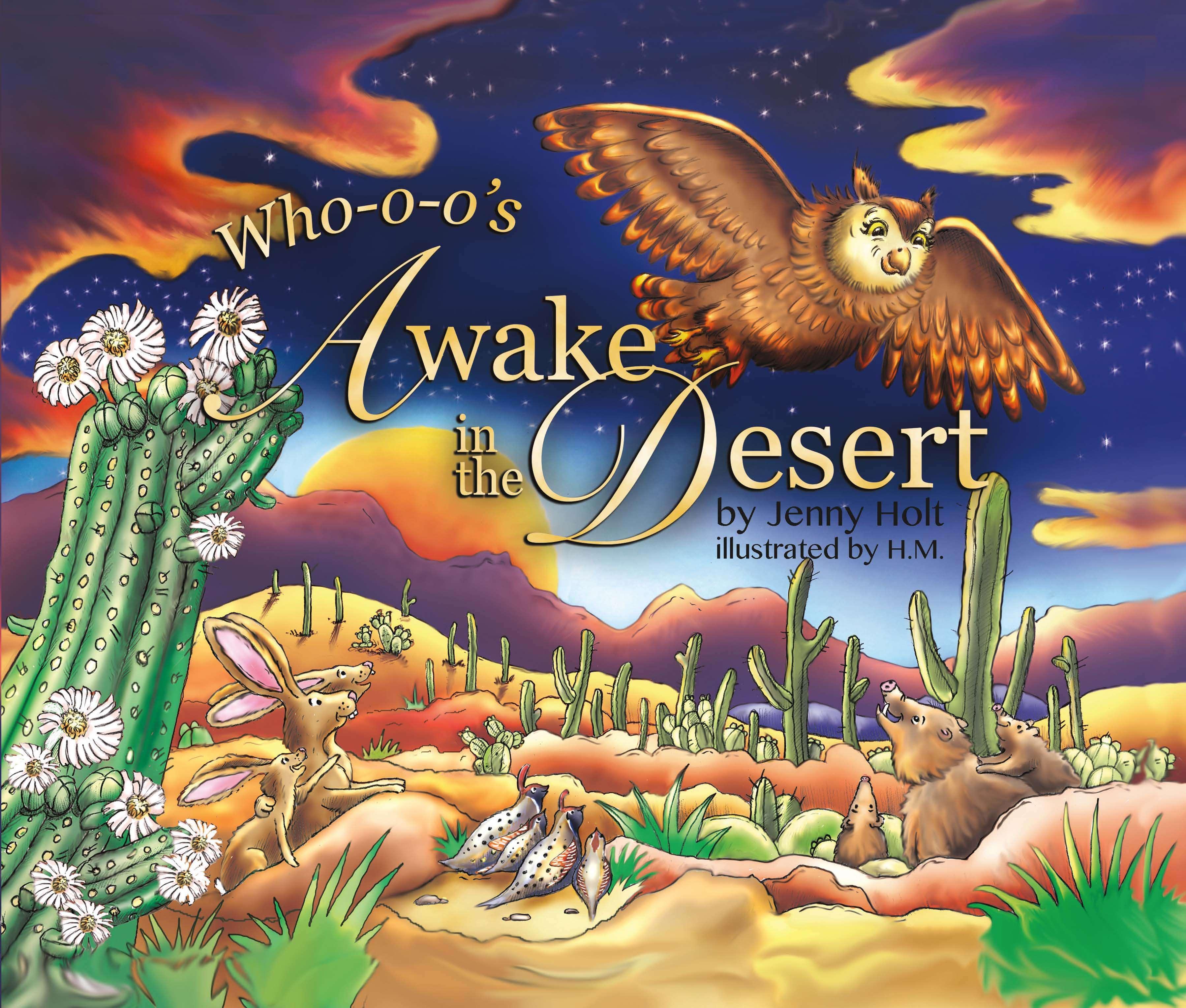 Who-o-o's Awake in the Desert_Front